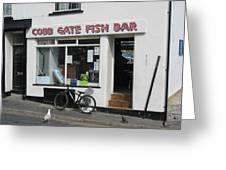 Cobb Gate Fish Bar Greeting Card