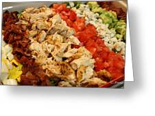 Cobb Salad Greeting Card