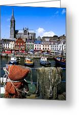 Cobh, Co Cork, Ireland, Cobh Cathedral Greeting Card