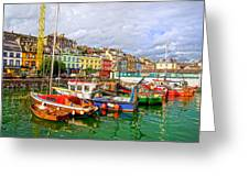 Cobh Town In Ireland Greeting Card