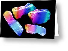 Cocaine Crystals, Sem Greeting Card by David Mccarthy