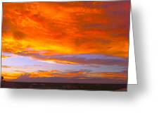 Cocoa Sunset Greeting Card