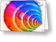 Code Of Colors 8 Greeting Card