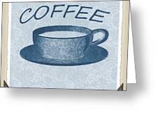 Coffee 1-2 Scrapbook Greeting Card