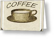 Coffee 3-2 Scrapbook Greeting Card