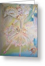 Coffee Fairy Greeting Card