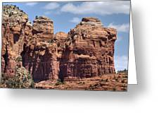 Coffee Pot Rock Formation Greeting Card