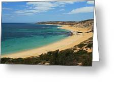 Coffin Bay Np 04 Greeting Card by David Barringhaus