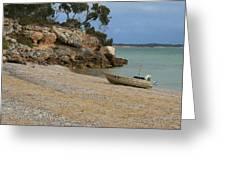 Coffin Bay Np Greeting Card by David Barringhaus