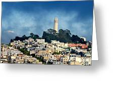 Coit Tower San Francisco Greeting Card