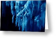 Cold Ice Greeting Card