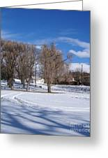Cold Park Greeting Card