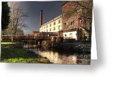 Coldharbour Mill Greeting Card