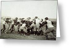 College Football Game, 1905 Greeting Card