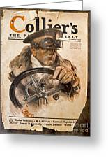 Colliers Cover Jan 5 1918 Greeting Card