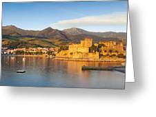 Collioure At Dawn Greeting Card
