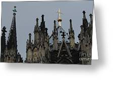 Cologne Cathedral Towers Greeting Card
