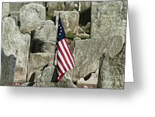 Colonial Cemetery Greeting Card