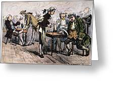 Colonial Coffee House Greeting Card