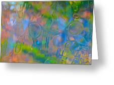 Colonial Glass Polarized Greeting Card