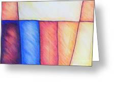 Color Block Greeting Card