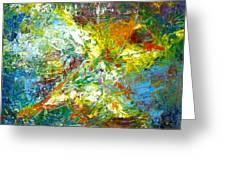 color explosion NO. Seventy Greeting Card