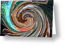 Color In Motion Greeting Card by Virginia Bond