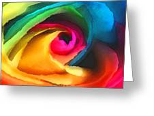 Color Launch Greeting Card