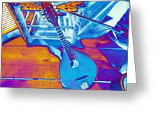Color With Mandolin   Greeting Card