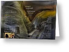 Colorado-california Art Book Cover2 Greeting Card