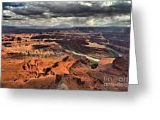 Colorado In The Canyons Greeting Card