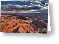 Colorado In The Distance Greeting Card