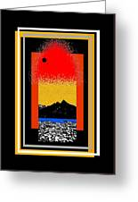 Colorado On Fire Greeting Card