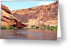 Colorado River Float Greeting Card