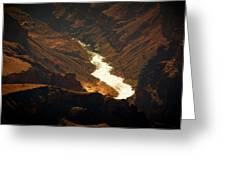 Colorado River Rapids Greeting Card