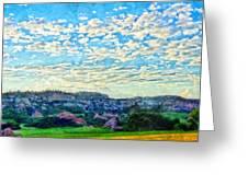 Colorado Skies 1 Greeting Card