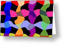 Colorfield Theory, No. 1 Greeting Card