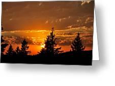 Colorfrul Sunset I Greeting Card
