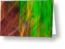 Colorful Beams 2 Greeting Card