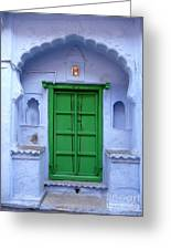 Colorful India Greeting Card