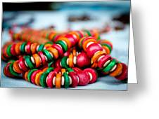 Colorful Jewellery Greeting Card by Ankit Sharma