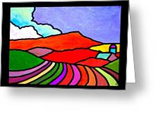 Colorful Massanutten Peak Two Greeting Card