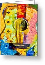 Colorful Music Greeting Card