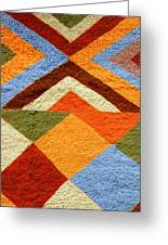 Colorful Patterns Greeting Card