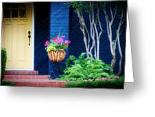 Colorful Porch Greeting Card
