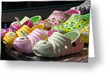 Colorful Shoe Greeting Card
