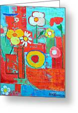 Colorful Summer  Greeting Card