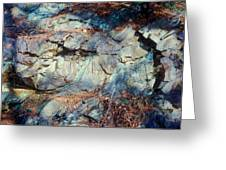 Colorfull Rocks Greeting Card