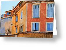 Colors In Provence Greeting Card