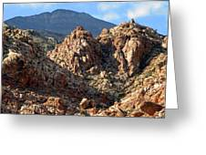 Colors In The Desert Greeting Card